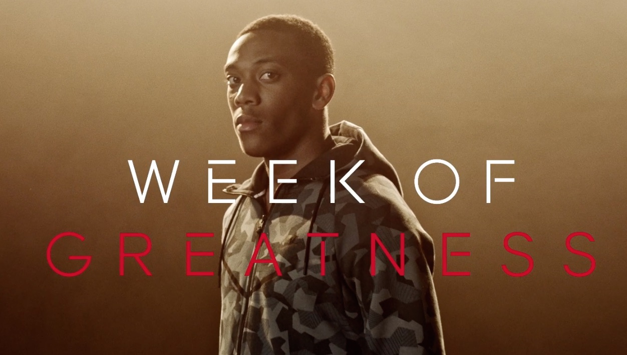 FOOT LOCKER lancia la campagna 'WEEK OF GREATNESS' con protagonisti le star del calcio Bale e Martial