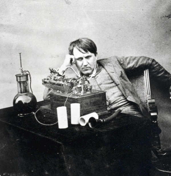 young-edison-with-telegraph