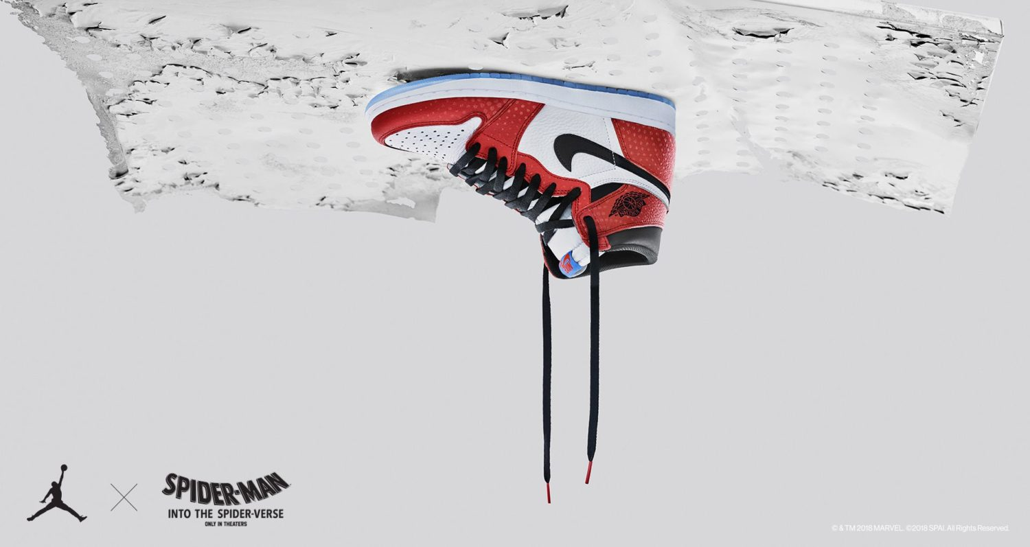 "AIR JORDAN I ""SPIDER-MAN"""